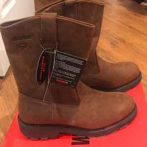 "NEW Men's Wolverine 10"" Wellington Boots 10.5"
